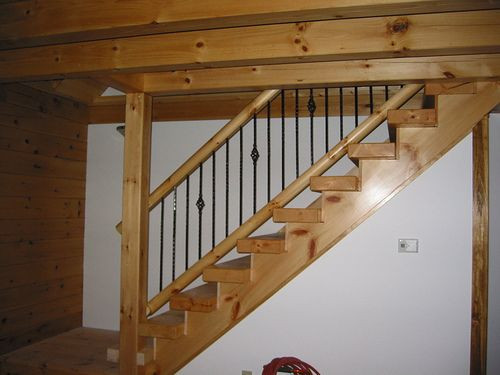 Best ideas about Basement Stair Railing . Save or Pin Lovely Basement Stair Railing 7 Basement Stairs With Now.
