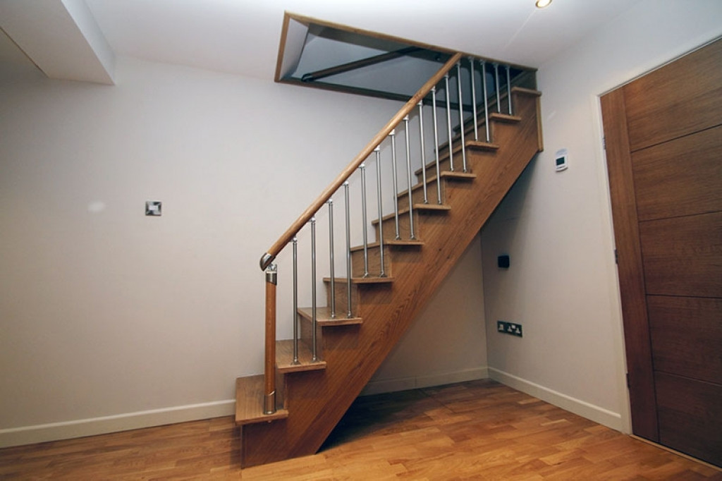 Best ideas about Basement Stair Railing . Save or Pin How to Put a Basement Stairs Railing for Puppies Founder Now.