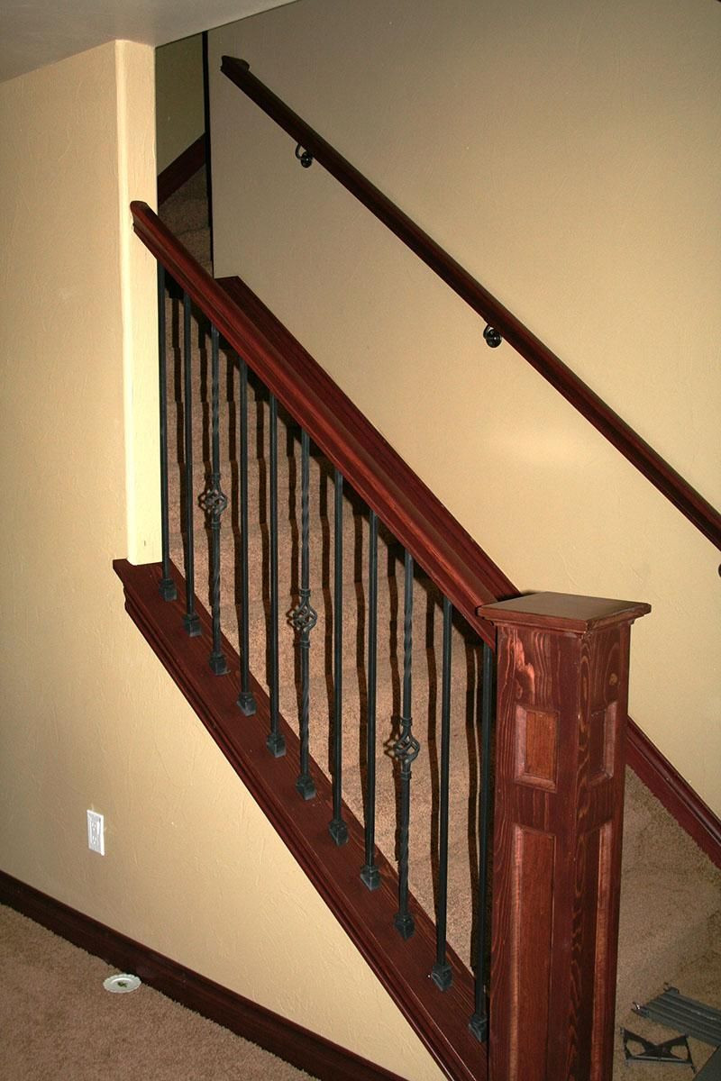 Best ideas about Basement Stair Railing . Save or Pin Basement Stair DIY Pinterest Now.