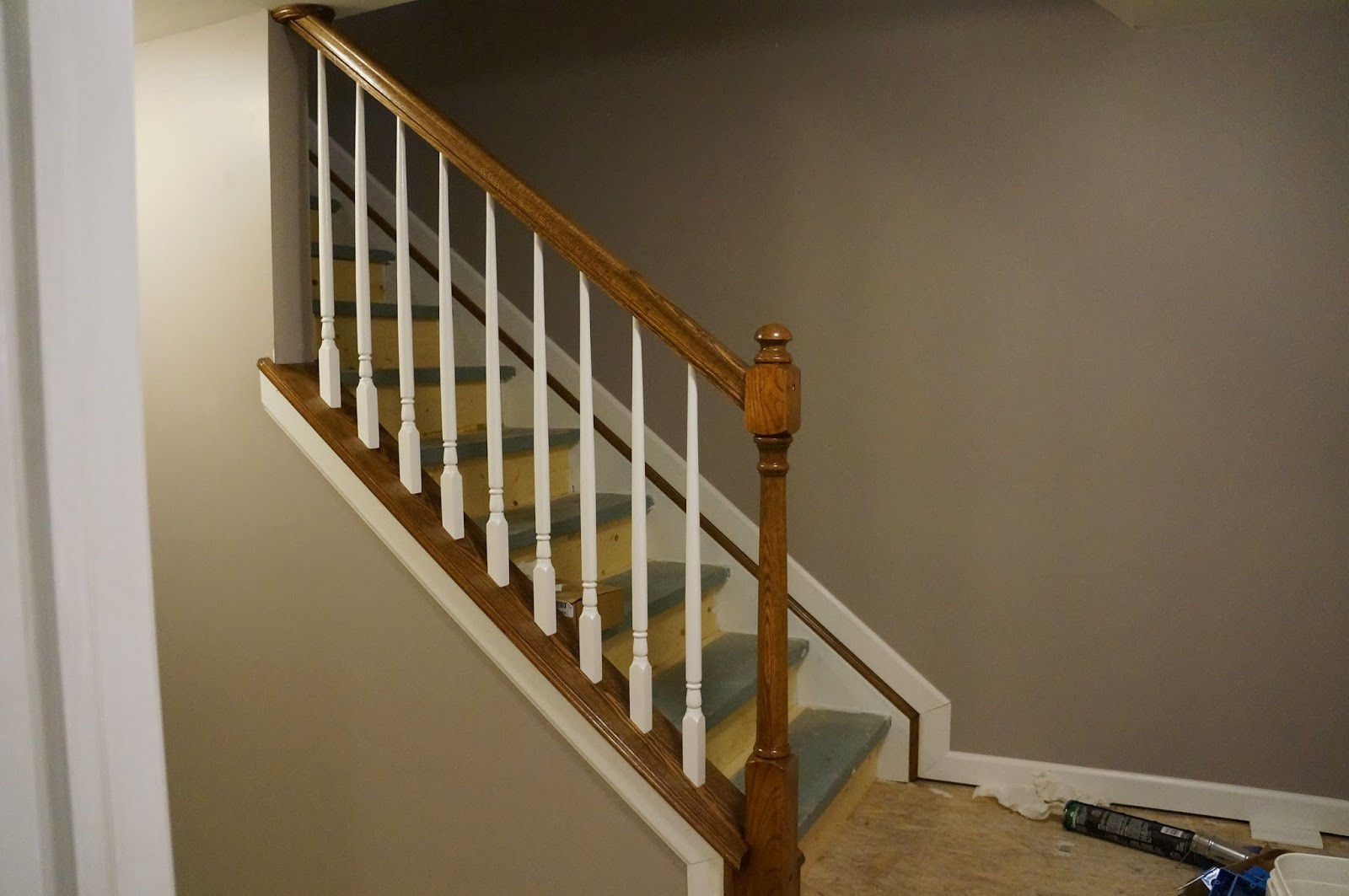 Best ideas about Basement Stair Railing . Save or Pin Stair Railing Ideas Contemporary Now.