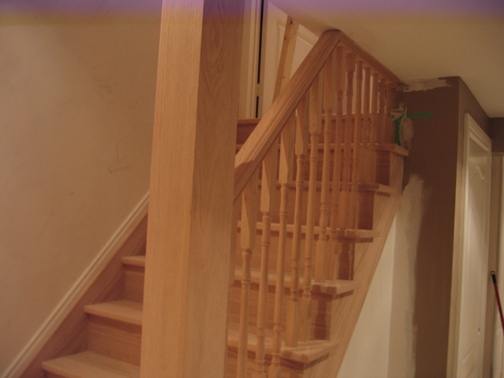 Best ideas about Basement Stair Railing . Save or Pin Basement stair railing Reviews Now.
