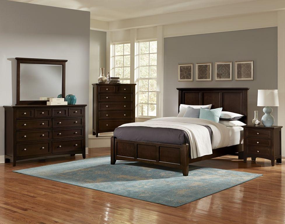 Best ideas about Bassett Bedroom Furniture . Save or Pin Vaughan Bassett Bonanza BB27 Merlot Bedroom Group Now.