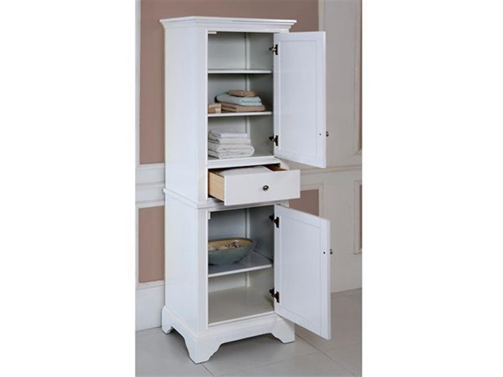 Best ideas about Bathroom Linen Tower . Save or Pin Bathroom Linen Tower for Linen Storage Now.