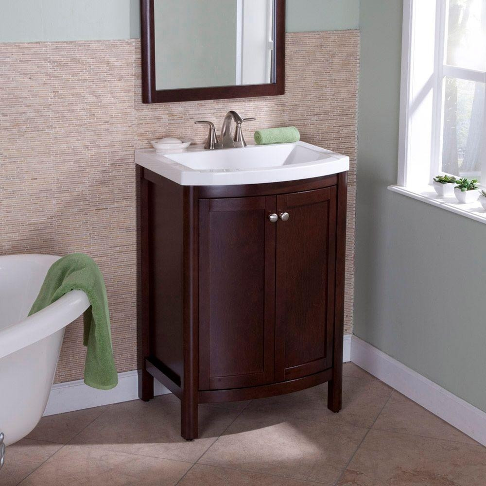 Best ideas about Bathroom Vanity Home Depot . Save or Pin Home Depot Bathroom Vanities 24 Inch Now.