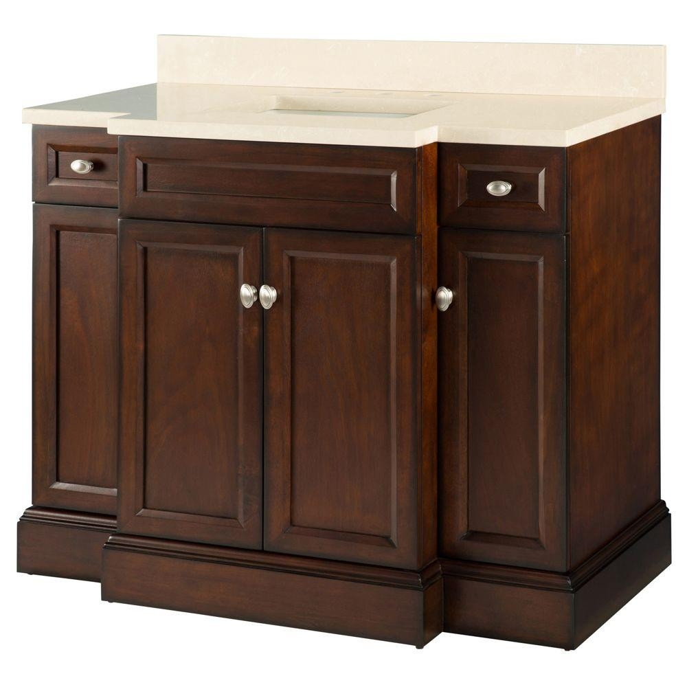 Best ideas about Bathroom Vanity Home Depot . Save or Pin 42 Inch Bathroom Vanity Home Depot Now.