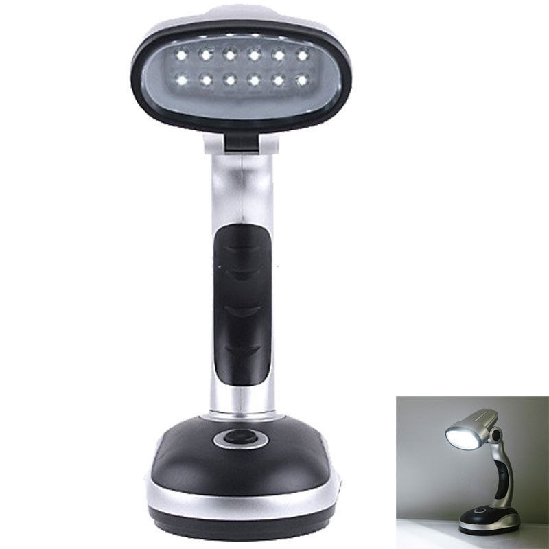 Best ideas about Battery Operated Desk Lamp . Save or Pin Battery Powered Mini 12 LED Cordless Emergency Desk Lamp Now.