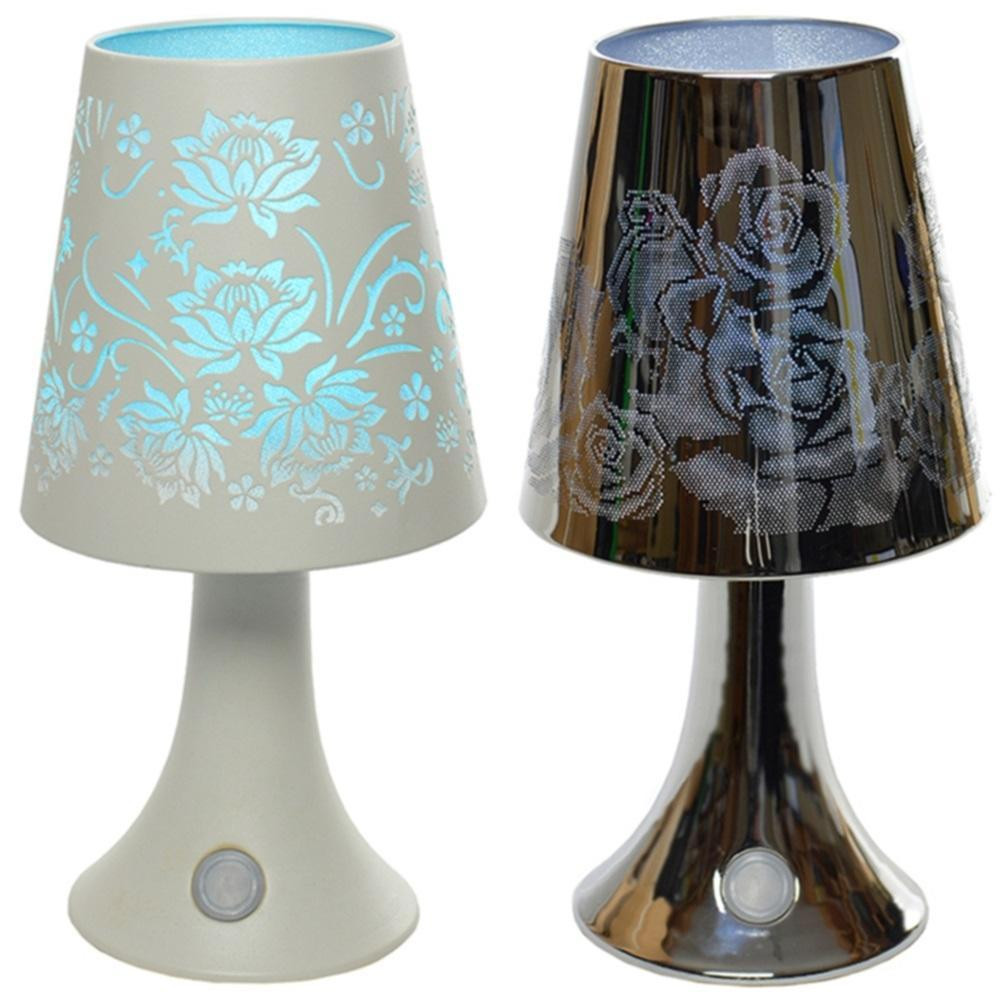 Best ideas about Battery Powered Desk Lamps . Save or Pin BATTERY POWERED CORDLESS COLOUR CHANGING LED ROSE TOUCH Now.