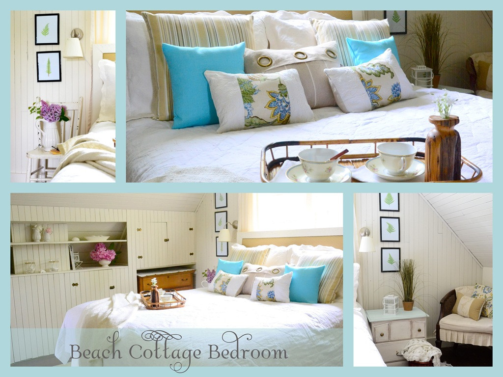 Best ideas about Beach Themed Bedroom . Save or Pin Beach Cottage Bedroom Reveal  Now.