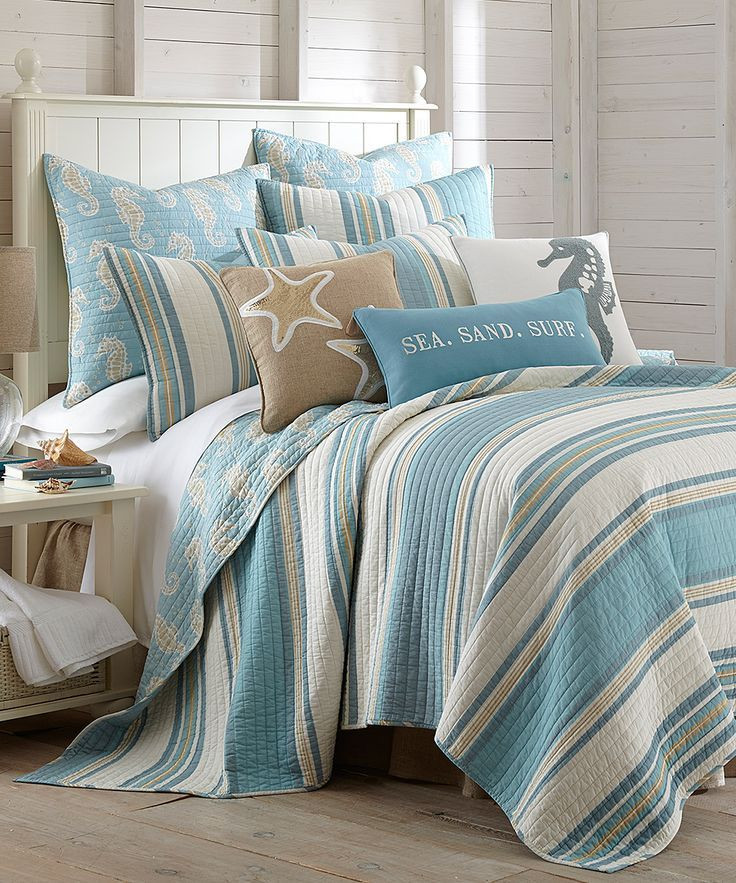 Best ideas about Beach Themed Bedroom . Save or Pin Beach Themed forter Sets Full Green Ecfqfo Now.