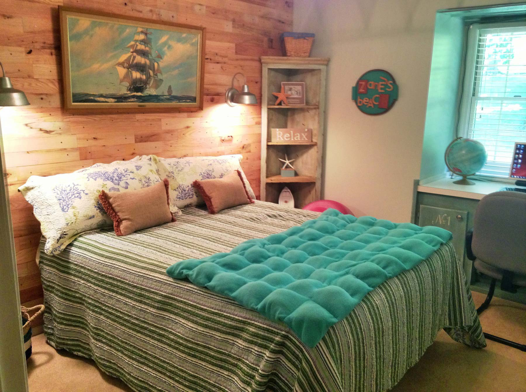 Best ideas about Beach Themed Bedroom . Save or Pin Beach Room Makeover Now.