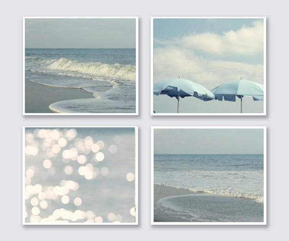 Best ideas about Beach Wall Art . Save or Pin Coastal Waves and Beach Wall Decor Set Now.