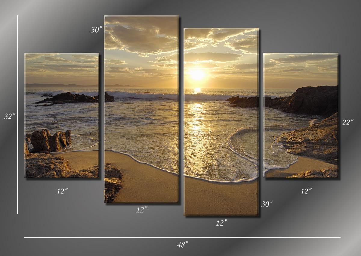 Best ideas about Beach Wall Art . Save or Pin 20 Top 3 Piece Beach Wall Art Now.