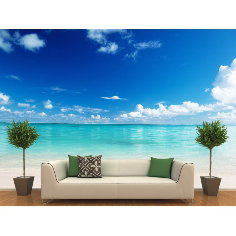Best ideas about Beach Wall Art . Save or Pin Beach Themed Wall Decor Decals b Wall Decal Now.
