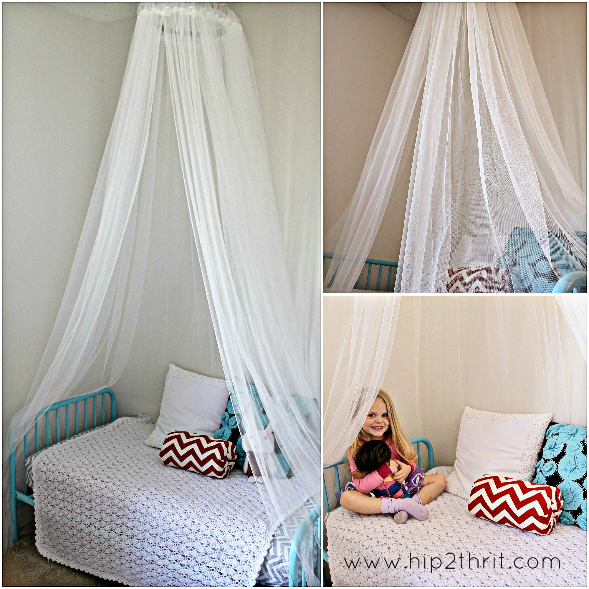 Best ideas about Bed Canopy DIY . Save or Pin Craftaholics Anonymous Now.