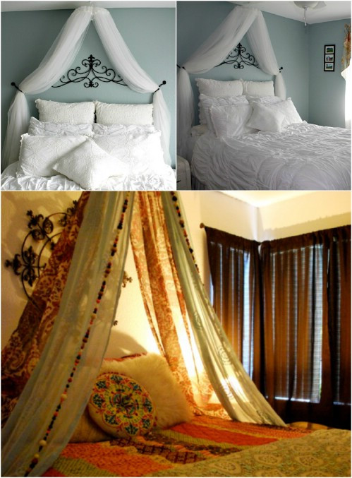 Best ideas about Bed Canopy DIY . Save or Pin Sleep in Absolute Luxury with these 23 Gorgeous DIY Bed Now.