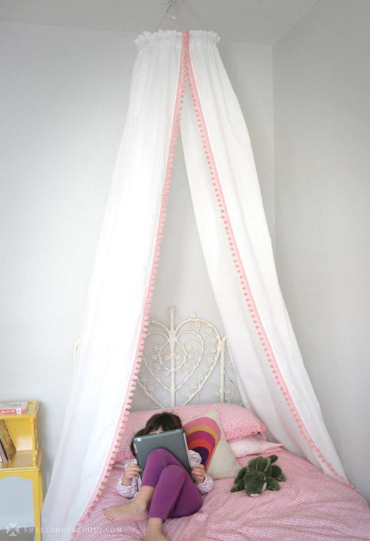 Best ideas about Bed Canopy DIY . Save or Pin Bed Canopy Tent Now.