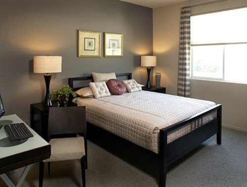 Best ideas about Bedroom Accent Wall Ideas . Save or Pin Bedroom Accent Wall Home Design Ideas Remodel Now.