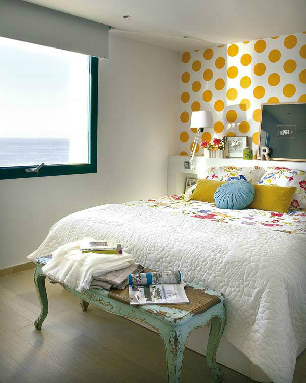 Best ideas about Bedroom Accent Wall Ideas . Save or Pin Awesome Bedroom Accent Wall Color and Decorating Ideas Now.