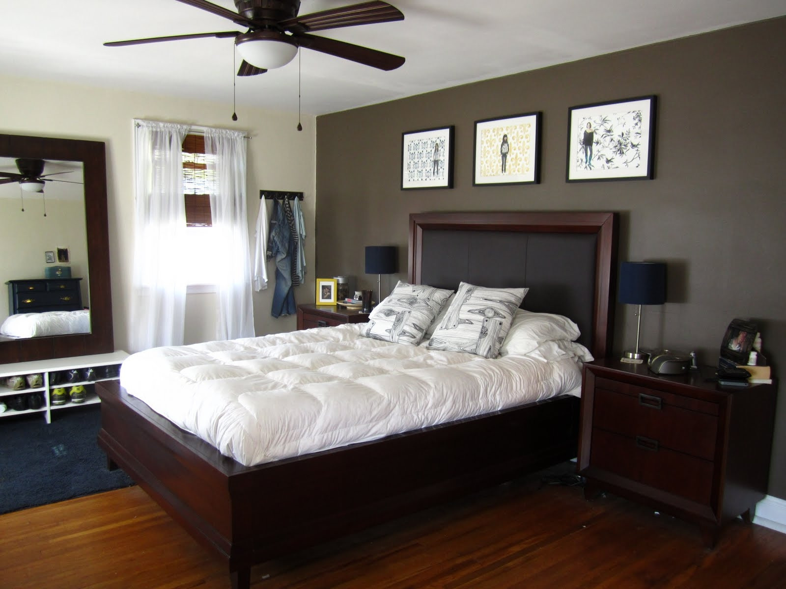 Best ideas about Bedroom Accent Wall Ideas . Save or Pin Bedroom Wallpaper Accent Wall 8 Decor Ideas Now.