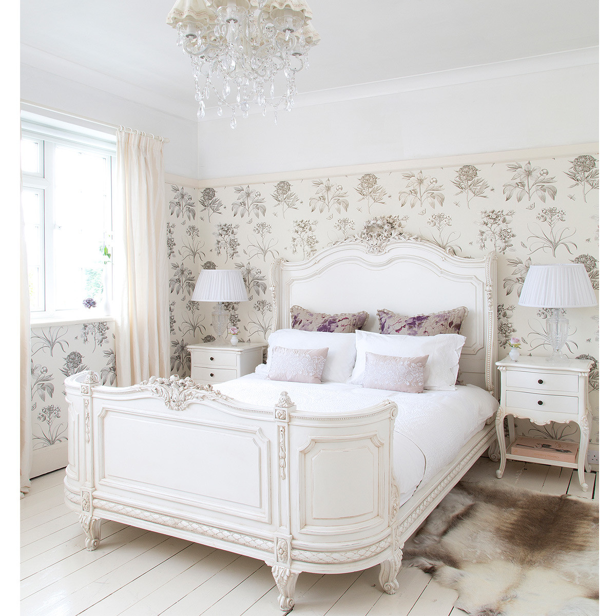 Best ideas about Bedroom In French . Save or Pin French bed rafinament elegance and romance in your bedroom Now.