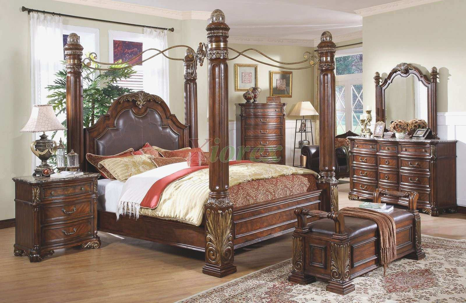 Best ideas about Bedroom Sets For Cheap . Save or Pin The Most Awesome Cheap Canopy Bedroom Sets with Regard to Now.