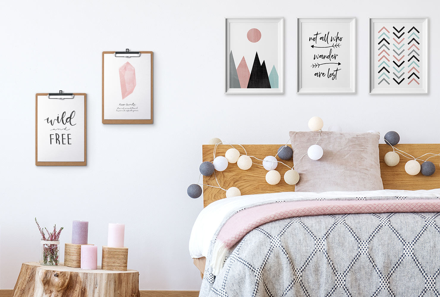 Best ideas about Bedroom Wall Decor . Save or Pin 24 DIY Bedroom Decor Ideas To Inspire You With Printables Now.