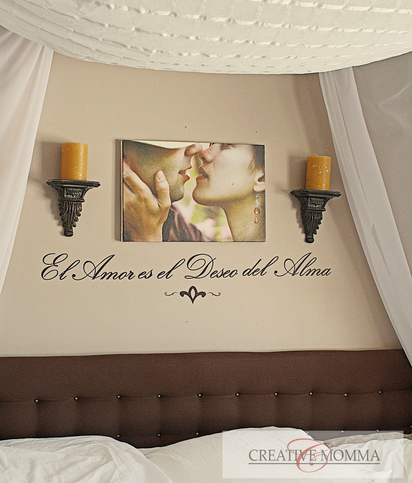Best ideas about Bedroom Wall Decor . Save or Pin Creative Mommas Purple Bedroom Wall Now.