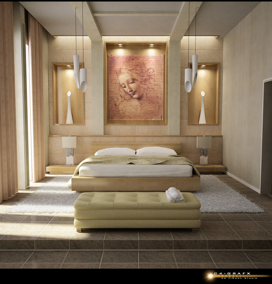 Best ideas about Bedroom Wall Decor . Save or Pin Beautiful Bedrooms Now.