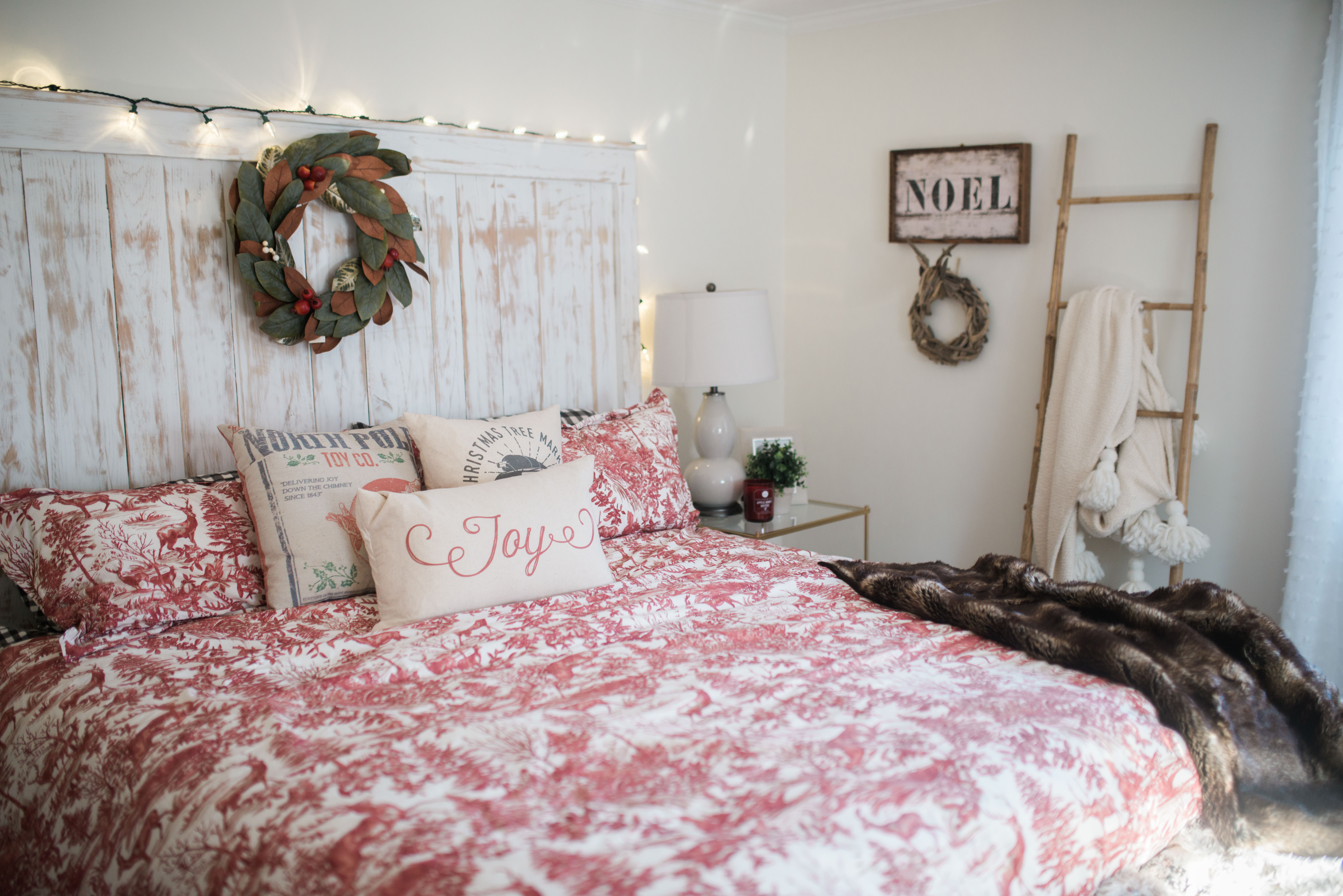 Best ideas about Bedroom Wall Decor . Save or Pin Our Bedroom holiday decor Bedroom Wall Decorations Now.