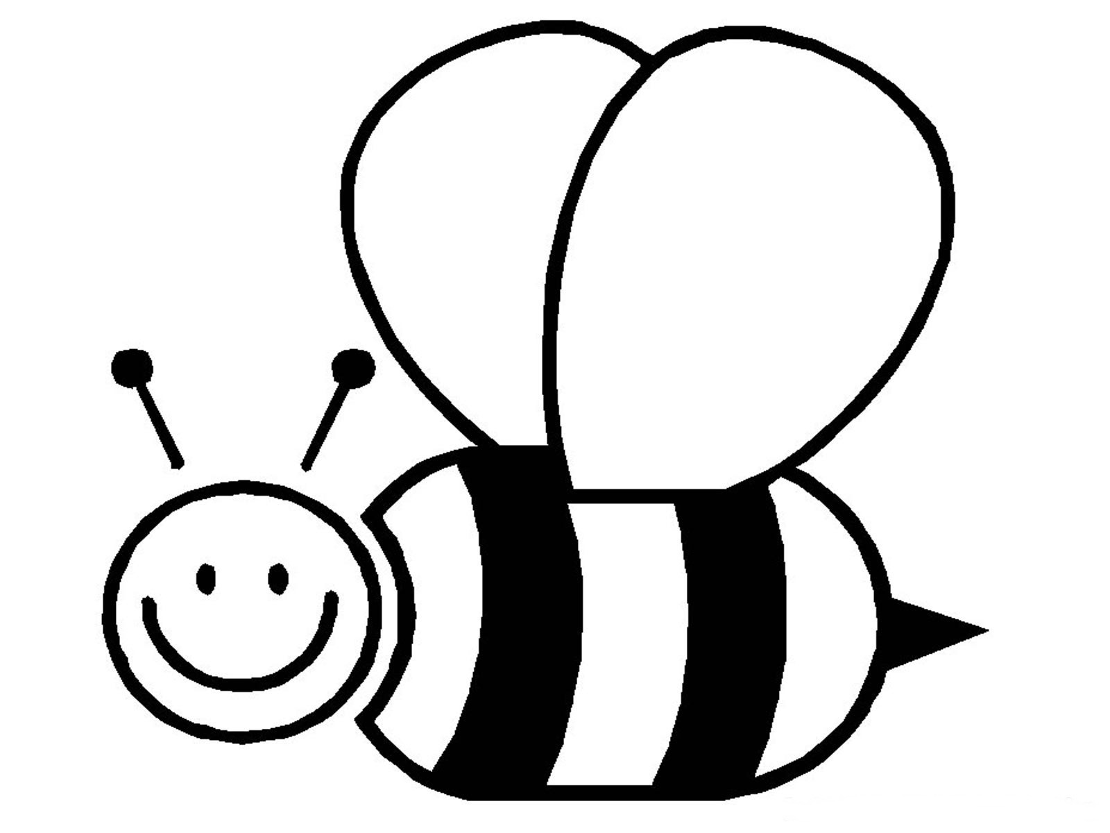 Best ideas about Bee Coloring Pages For Kids . Save or Pin Free Printable Bumble Bee Coloring Pages For Kids Now.