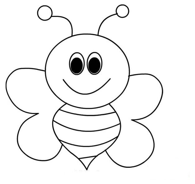 Best ideas about Bee Coloring Pages For Kids . Save or Pin Bee Coloring Pages For Kids Preschool and Kindergarten Now.