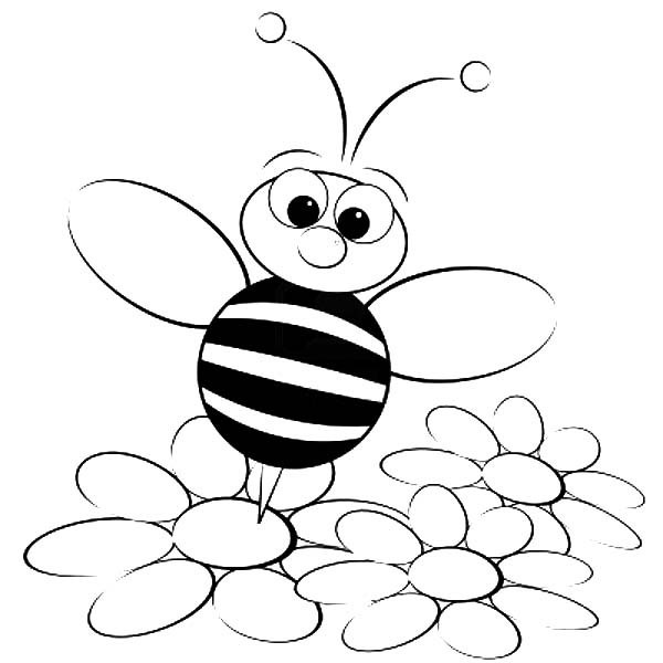 Best ideas about Bee Coloring Pages For Kids . Save or Pin Bees Coloring Pages Free Coloring Pages Bee Coloring Pages Now.