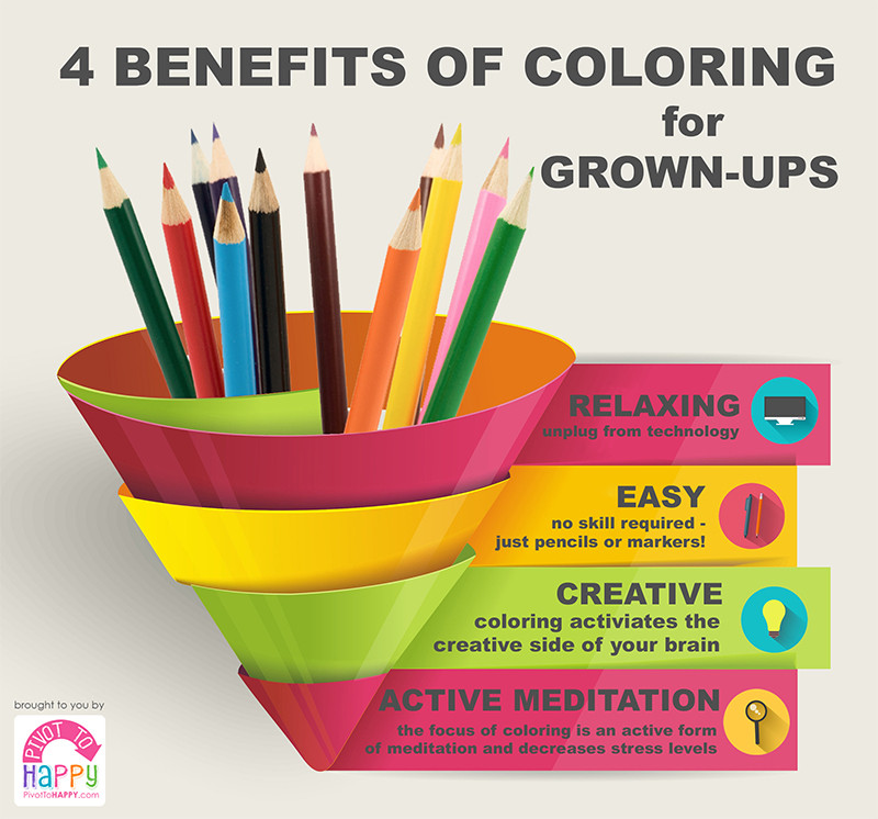 Benefits Of Adult Coloring Books  Reasons You Should Steal Your Kid s Coloring Books
