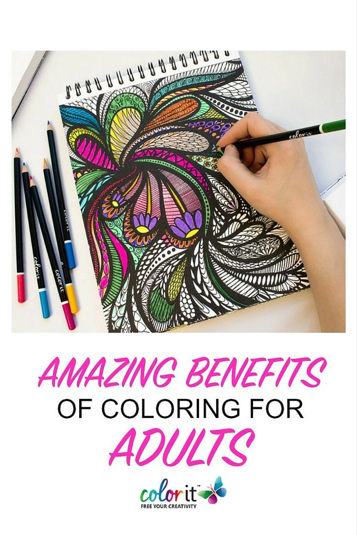 Benefits Of Adult Coloring Books  15 best Adult Coloring News images on Pinterest