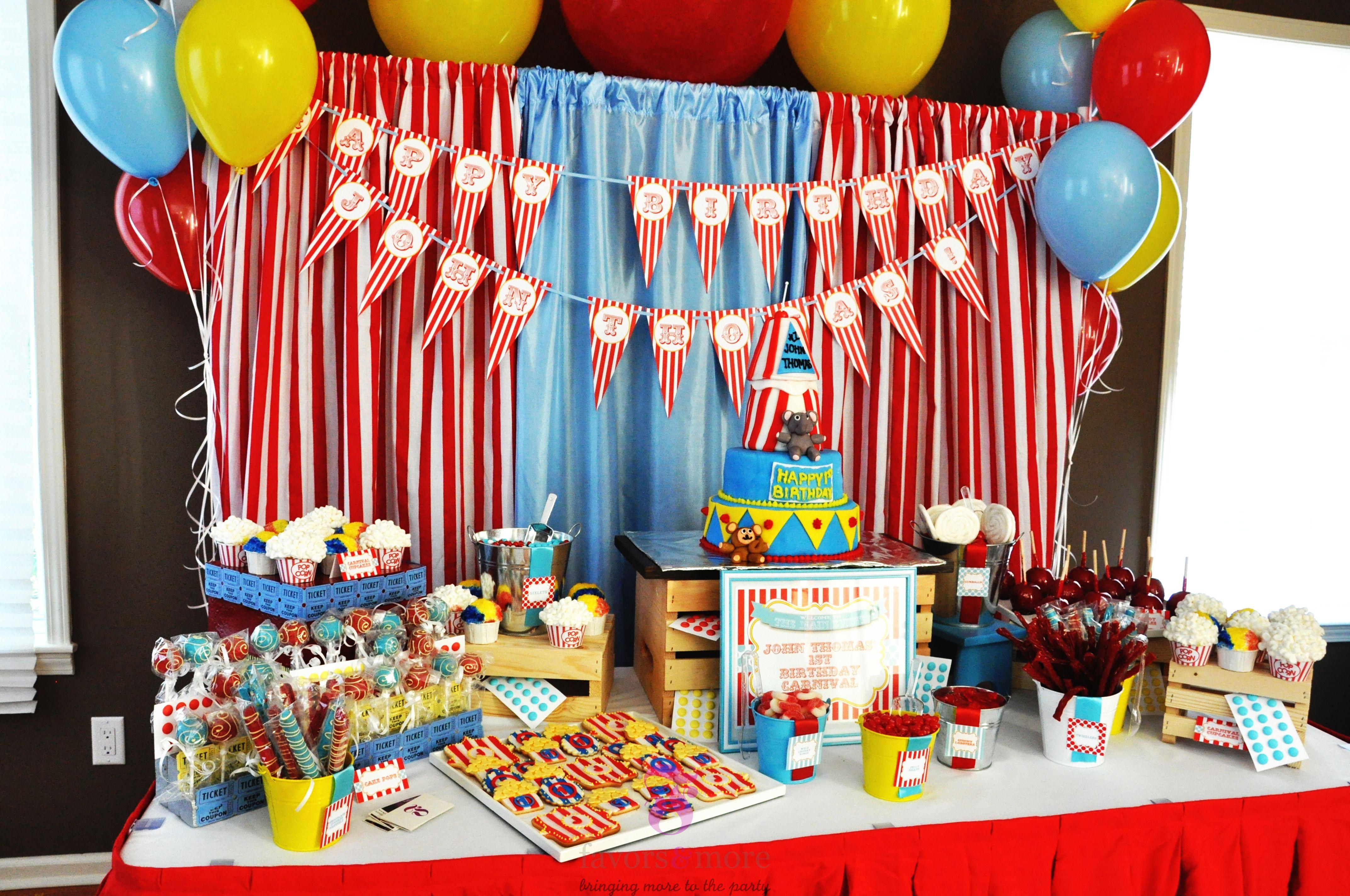Best ideas about Best Birthday Party Ideas . Save or Pin 15 Best Carnival Birthday Party Ideas Now.