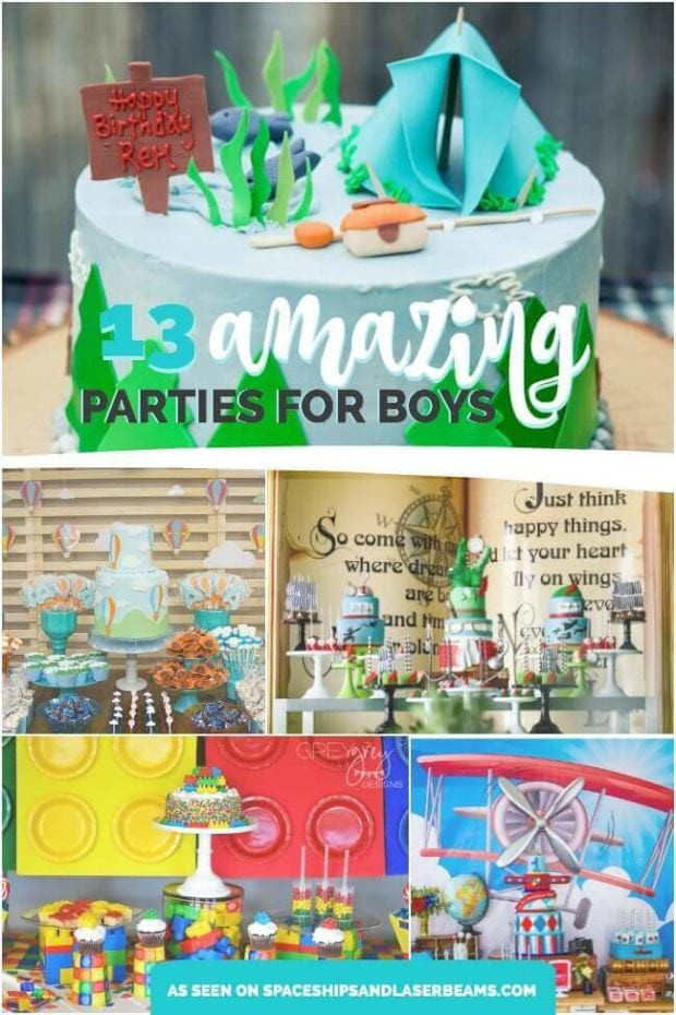 Best ideas about Best Birthday Party Ideas . Save or Pin Best Birthday Party Themes for Boys Spaceships and Laser Now.