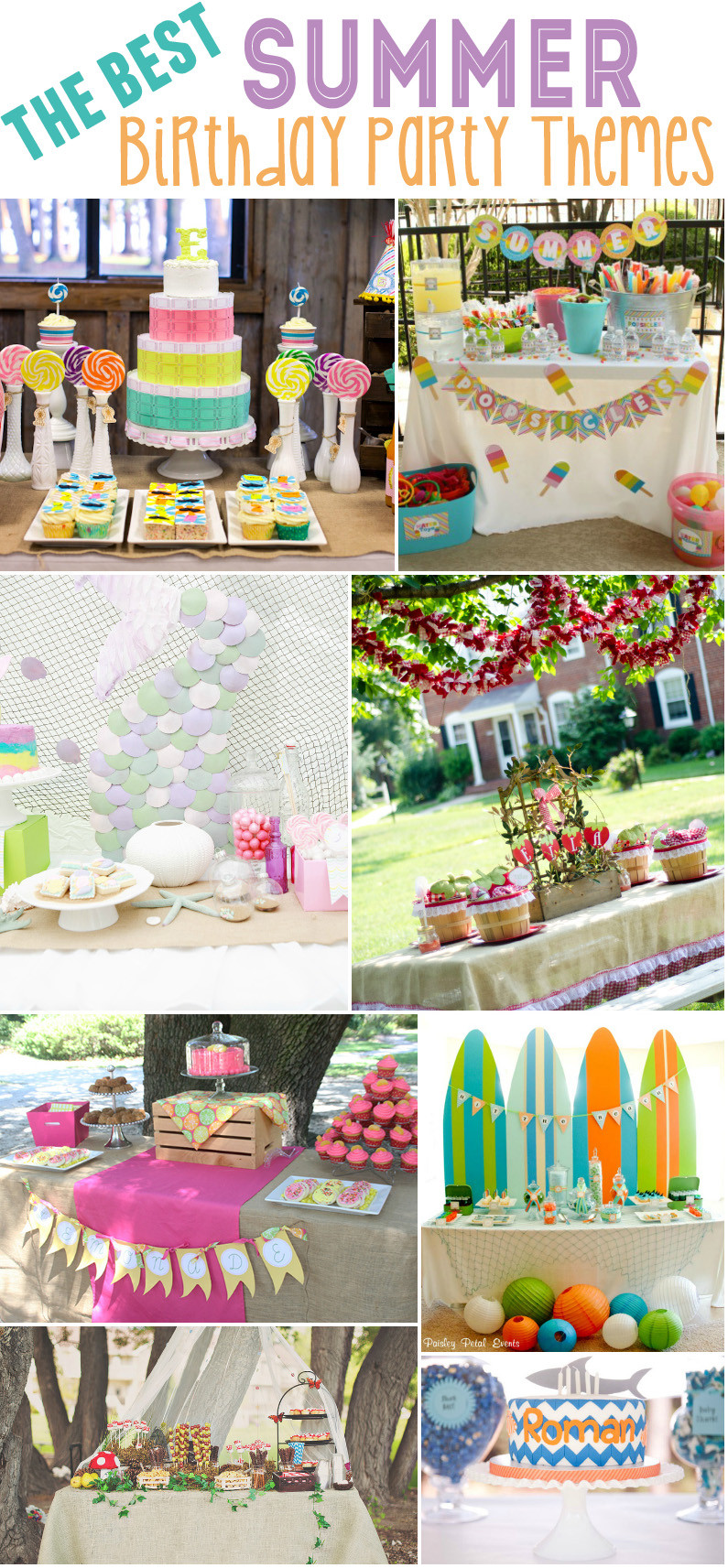 Best ideas about Best Birthday Party Ideas . Save or Pin 15 Best Summer Birthday Party Themes Design Dazzle Now.