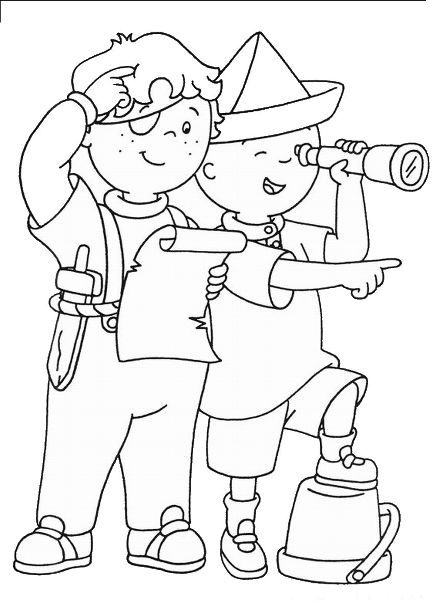 Best Coloring Books For Toddlers  Caillou Coloring Pages Best Coloring Pages For Kids