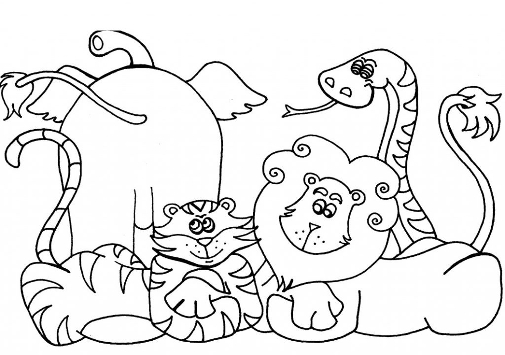 Best Free Coloring Sheets For Kids Printables  Free Printable Preschool Coloring Pages Best Coloring