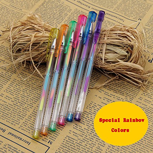 Best Gel Pens For Adult Coloring Books  Tanmit Gel Pens for Adult Coloring Books Set of 60