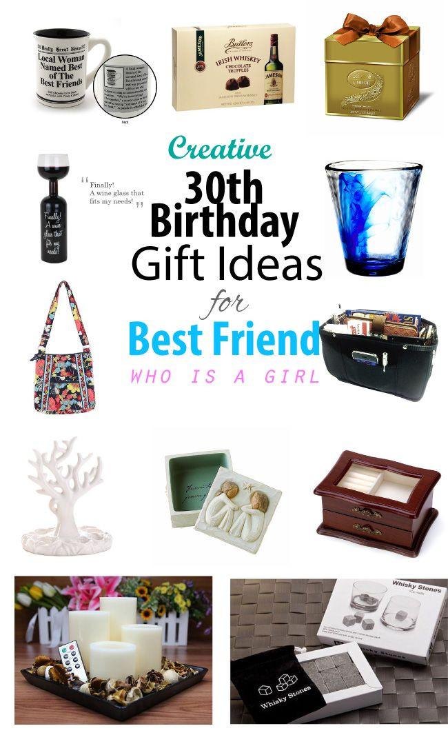 Best Gift Ideas For Girls  Creative 30th Birthday Gift Ideas for Female Best Friend