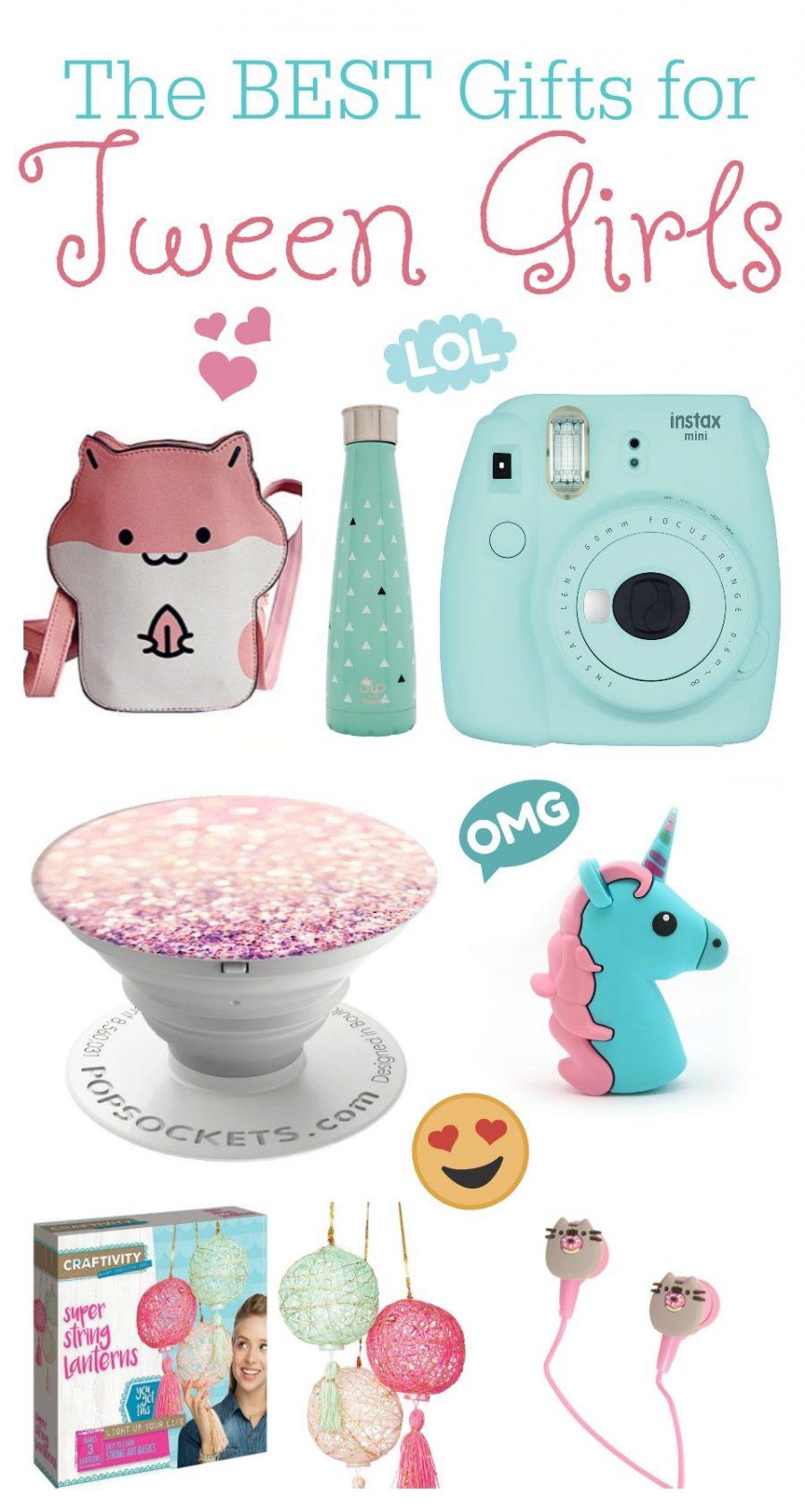 Best Gift Ideas For Girls  The BEST Gift Ideas for Tween Girls