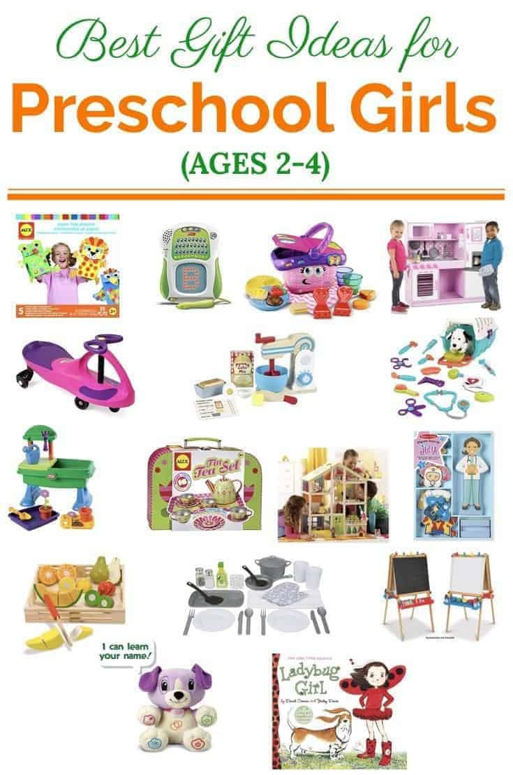 Best Gift Ideas For Girls  Best Gift Ideas for Preschool Girls Ages 2 4 Gift Guide