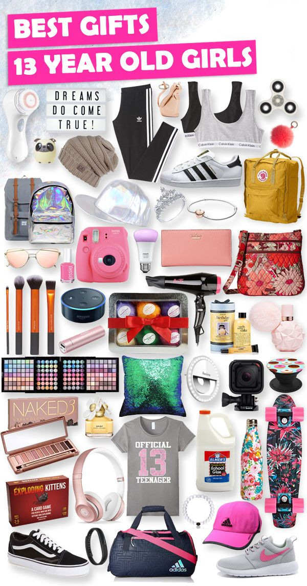 Best Gift Ideas For Girls  Best Gifts for 13 Year Old Girls in 2018 [HUGE List of
