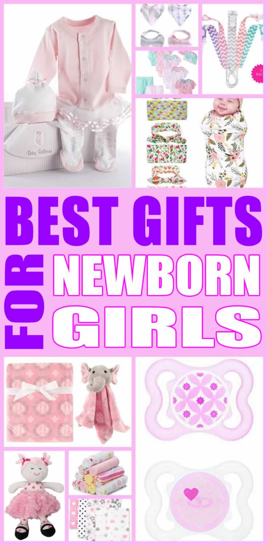 Best Gift Ideas For Girls  Best Gifts For Newborn Girls