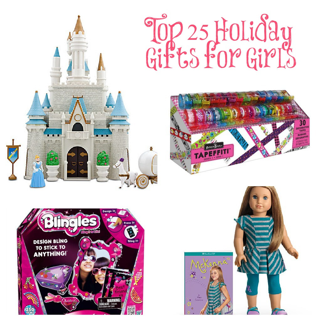 Best Gift Ideas For Girls  Top 25 Gift Ideas for Girls this Holiday Season Classy Mommy
