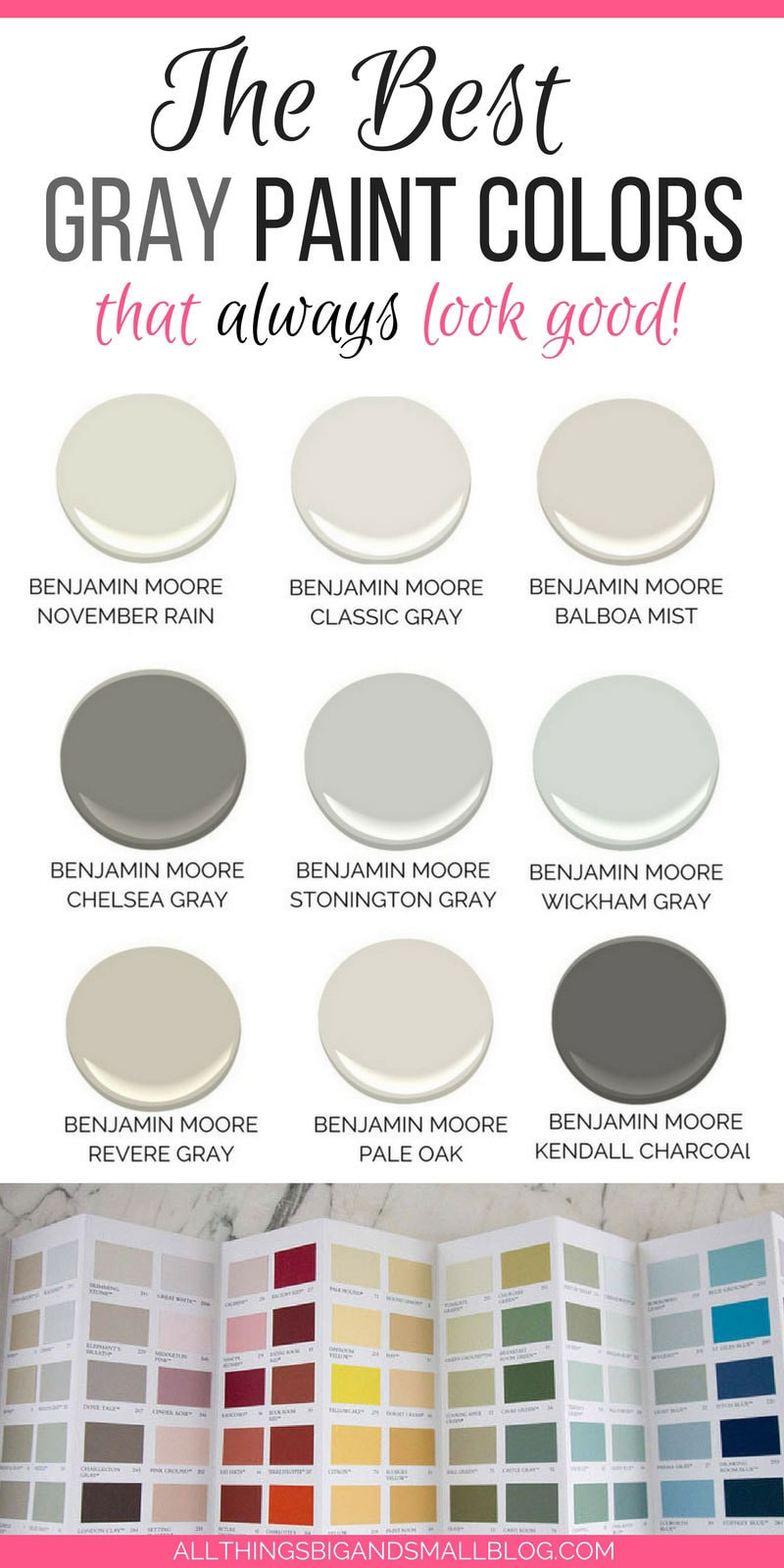 Best ideas about Best Grey Paint Colors . Save or Pin The Best Gray Paint Colors NEVER FAIL Gray Paints Now.
