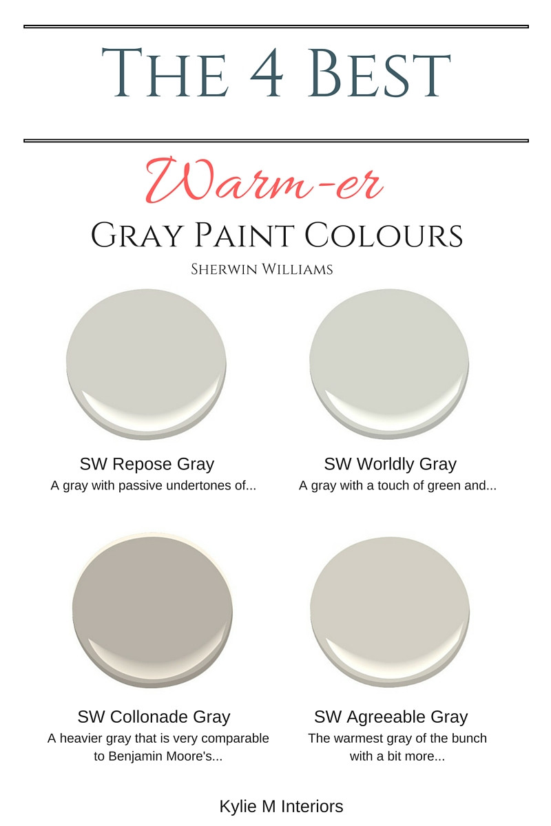 Best ideas about Best Grey Paint Colors . Save or Pin The best warm gray paint colours that are almost greige Now.