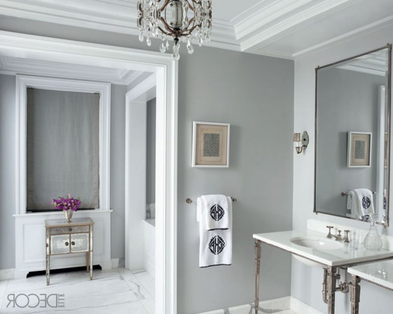 Best ideas about Best Grey Paint Colors . Save or Pin DESIGNERS TIP How to make small spaces seem large Now.