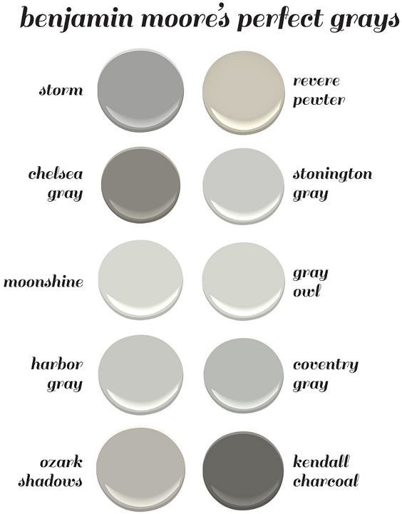 Best ideas about Best Grey Paint Colors . Save or Pin Benjamin Moore s Perfect Gray Paint Colors Benjamin Moore Now.